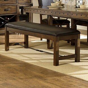 Trent Austin Design Alegre Wood Upholstered Bench