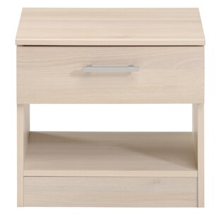 Trule Teen Burnette 1 Drawer Nightstand