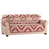 Aztec T-Cushion Sofa Slipcover by Union Rustic