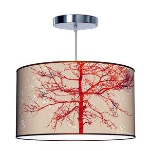 Jef Designs Organic Modern Tree Pendant