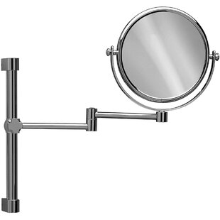 Clearance Knap Double-Sided Extendable Makeup/Shaving Mirror By Symple Stuff