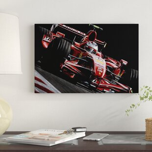 'Räikkönen' Graphic Art Print on Canvas By East Urban Home