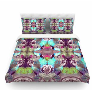 Kaleidoscopic Boho by Vasare Nar Featherweight Duvet Cover