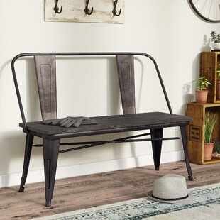 Mccreery Metal Bench by Trent Austin Design