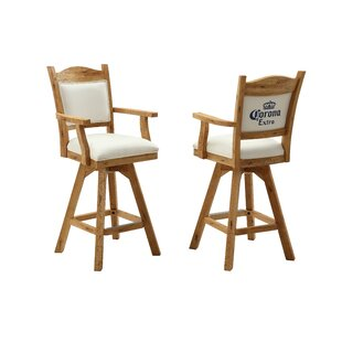 Corona 48 Swivel Bar Stool (Set of 2)