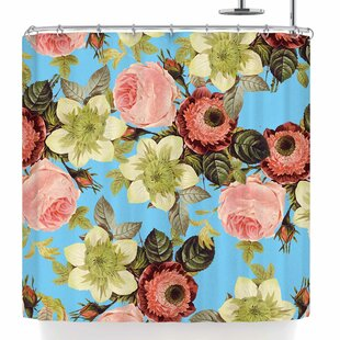 East Urban Home Wild Floral Shower Curtain