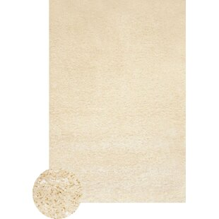 Great Price One-of-a-Kind Theiss White Area Rug By Latitude Run