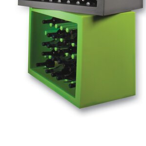 Bachus 35 Bottle Floor Wine Rack by Slide Design