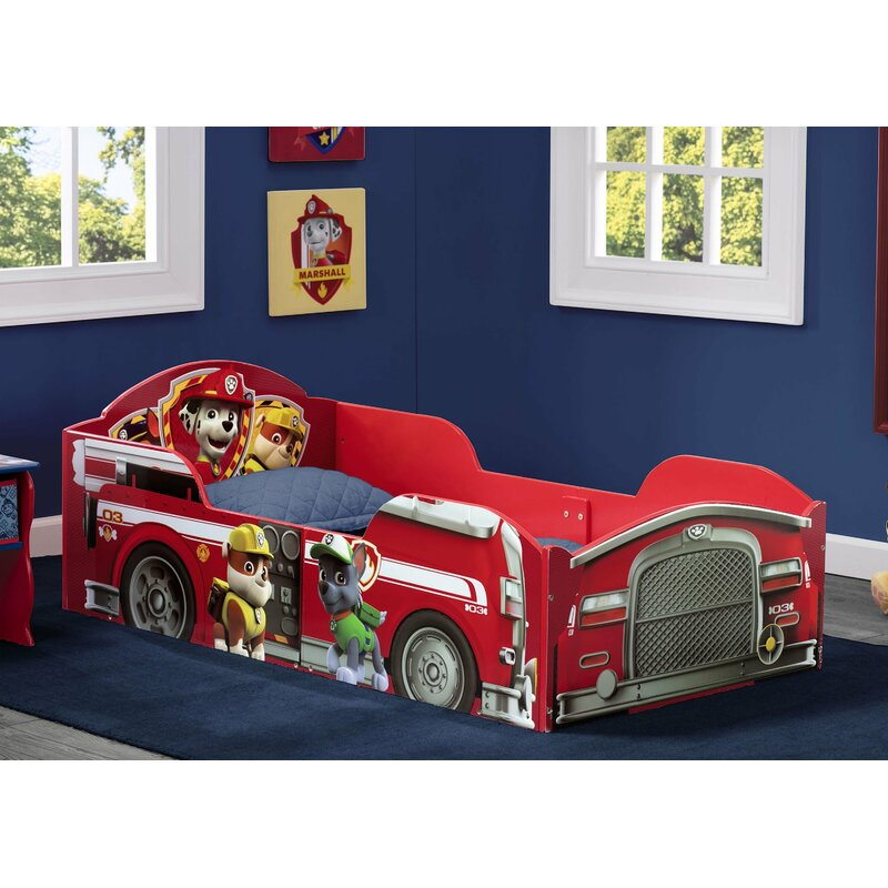 Nick Jr  PAW Patrol Toddler Car Bed