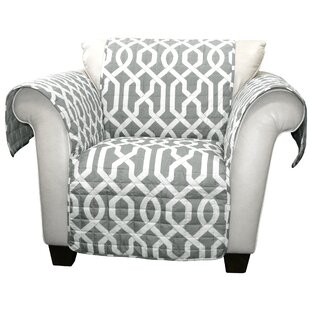 Caledonia Box Cushion Armchair Slipcover