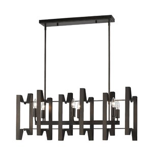 Z-Lite Fawcett 6-Light Kitchen Island Pendant