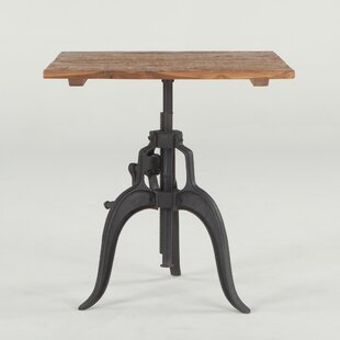 Hackett Adjustable Dining Table by Williston Forge Best #1
