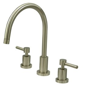 Elements of Design South Beach Double Handle Widespread Kitchen Faucet