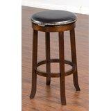 Weslaco Swivel Bar & Counter Stool by Charlton Home®