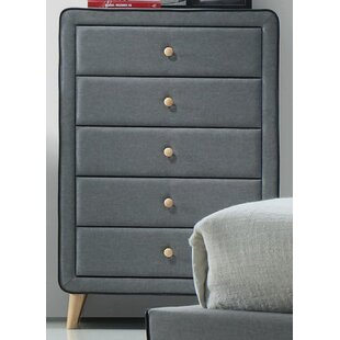 Wrought Studio Lonan 5 Drawer Chest