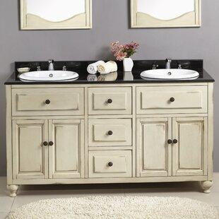 Best Reviews Kensington II 60 Double Bathroom Vanity Set ByOve Decors