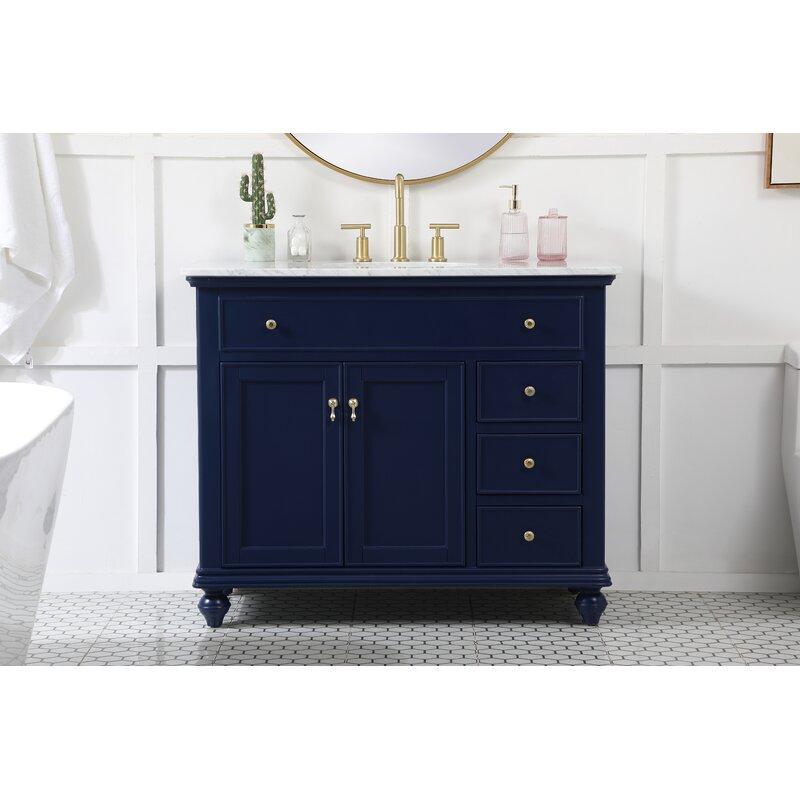 Charlton Home Daenerys 42 Single Bathroom Vanity Set Reviews Wayfair