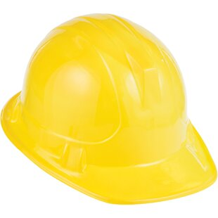 Construction Hat Plastic Disposable Party Favor (Set of 8)