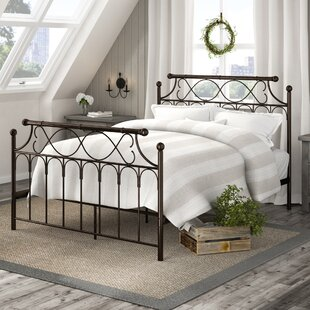 Inverness Metal Queen Panel Bed