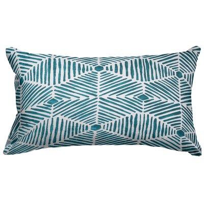 Trule Teen Ashby Cotton Lumbar Pillow Color: Emerald