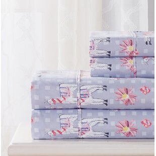 Blalock 4 Piece Llama Sheet Set by Bungalow Rose 2019 Sale