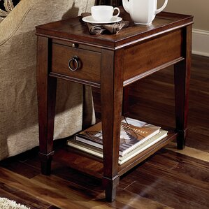 Fitzhugh End Table With Storage by Darby Home Co