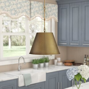 Lonan 1-Light Cone Pendant by Andover Mills