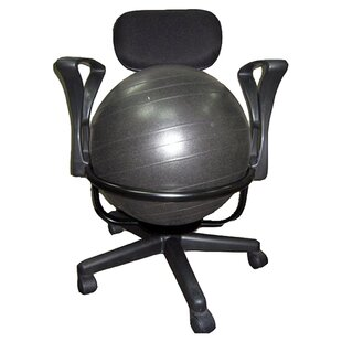 High Back Exercise Ball Chair by Symple Stuff Find