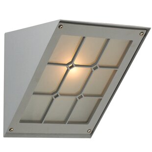 Lewes 1-Light Outdoor Flush Mount by Ebern Designs