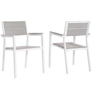 Latitude Run Ellport Patio Arm Chair (Set..