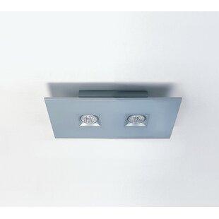 ZANEEN design Polifemo 2-Light Semi Flush Mount