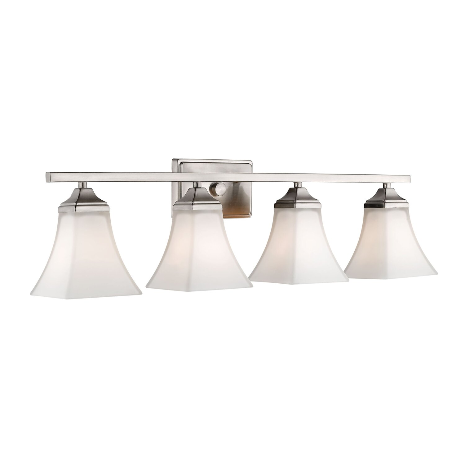 Brushed Nickel Bathroom Vanity Lighting You Ll Love In 2020 Wayfair