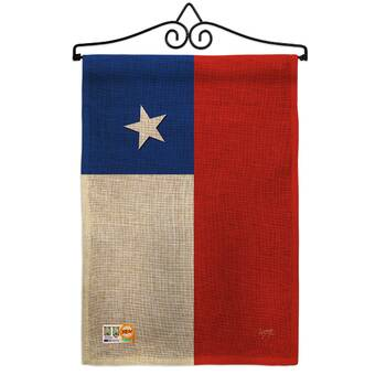 Breeze Decor 2 Piece Chile Of The World Nationality Impressions Decorative Vertical 2 Sided Polyester Flag Set Wayfair