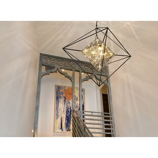 Brayden Studio Canas 4-Light Geometric Chandelier