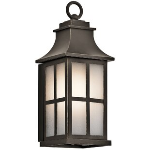 Buy luxury Pallerton Way 1-Light Outdoor Wall Lantern By Kichler