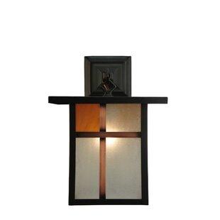 Compare & Buy 1-Light Outdoor Wall Lantern By Meyda Tiffany