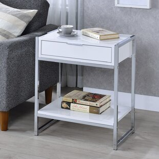 Hobby End Table with Storage