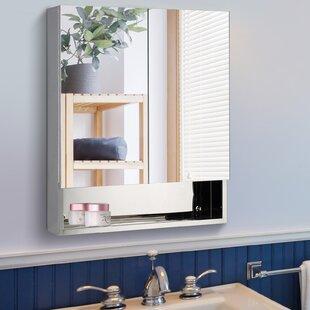Aldarondo 235 x 275 Surface Mount Framed Medicine Cabinet