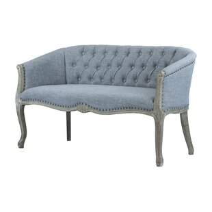 Quebec Standard Loveseat by Ophelia & Co. Best Choices