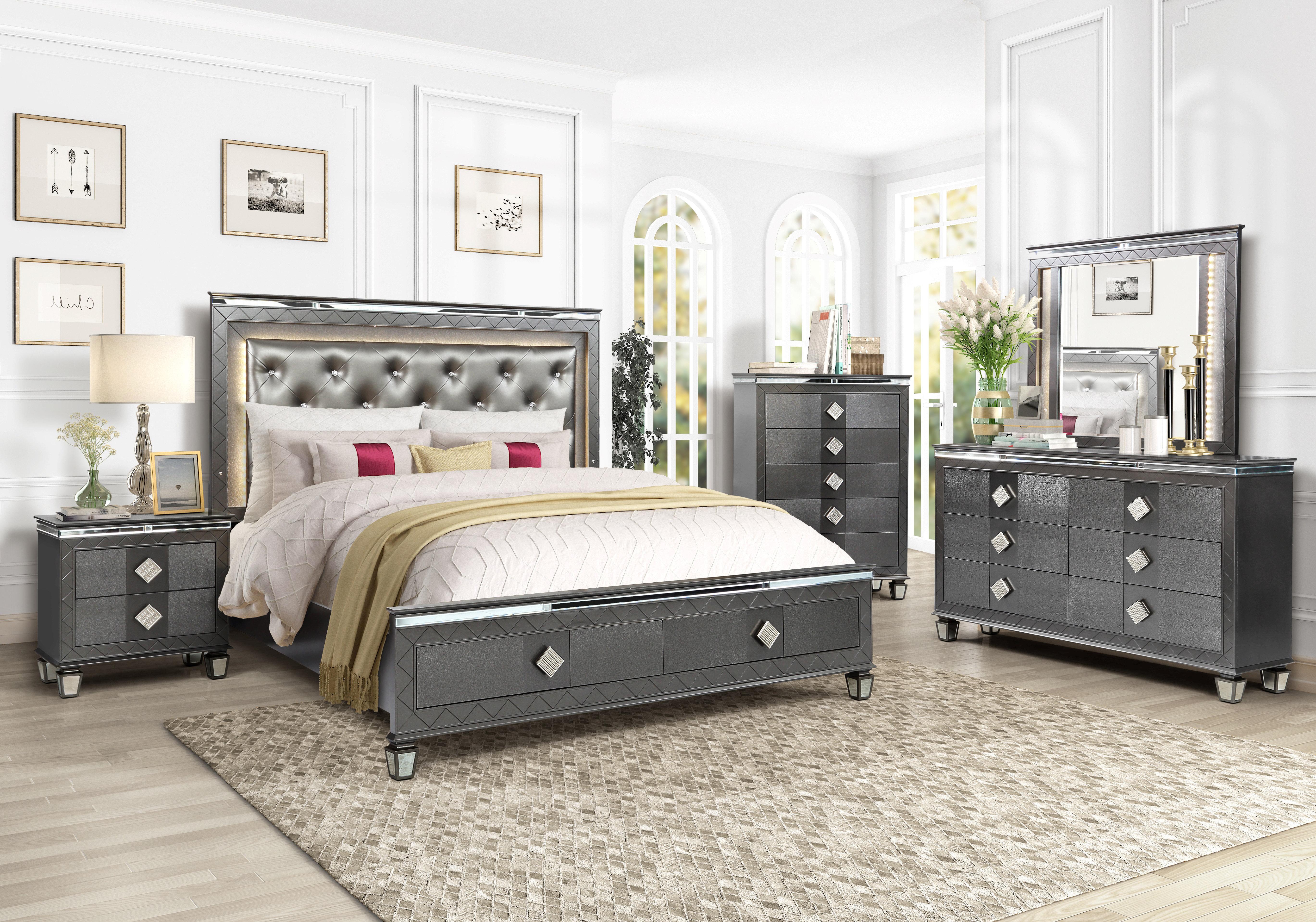 Halcomb Platform Configurable Bedroom Set