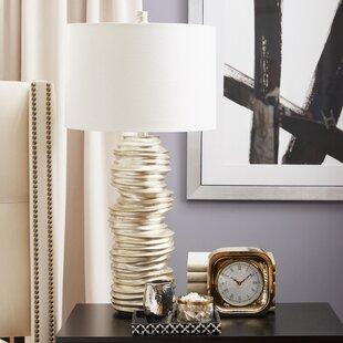 Best Reviews Baretta 32 Table Lamp By Bloomsbury Market