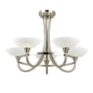 Cagney 5-Light Semi Flush Mount by Endon Lighting