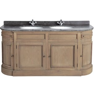 Drews 191mm Free-standing Double Vanity Unit By Union Rustic