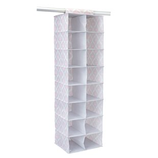 Compare prices Closet Candie 16 Pair Hanging Shoe Organizer By Macbeth Collection