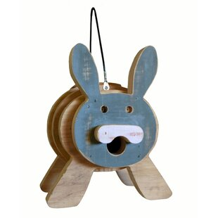 1000 West Inc Bunny Stacked 9 in x 9 in x 8 in Birdhouse