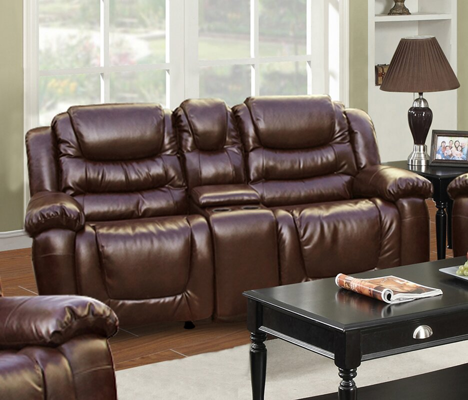 Ottawa Leather Reclining Sofa Part 69