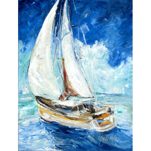 Caroline S Treasures Sailboats 2 Sided Polyester 40 X 28 In House Flag Wayfair