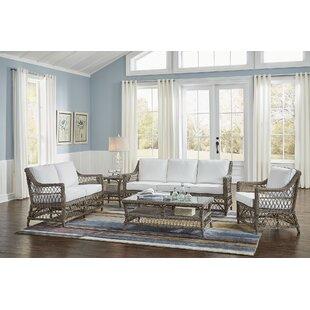 Chic Seaside Living Room | Wayfair