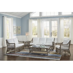 Low priced Seaside 5 Piece Conservatory Living Room Set by Panama Jack Sunroom Reviews (2019) & Buyer's Guide