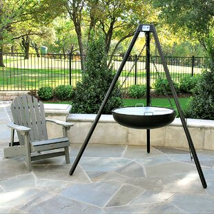 3 Embers Trail Steel Charcoal Fire Pit